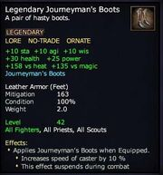 Legendary Journeyman's Boots (leather)