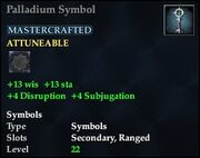 Palladium Symbol
