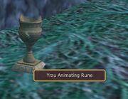 Yrzu Animating Rune