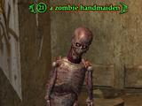 A zombie handmaiden