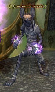 An Anashite mystic