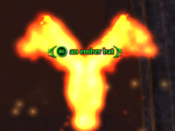 An ember bat