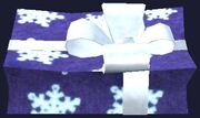 Blue and White Frostfell Gift Box (Visible)