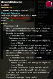Elemental Detonation