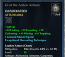 Gi of the Ashen Artisan