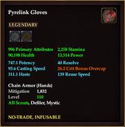 Pyrelink Gloves