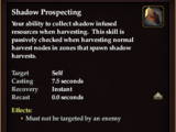 Shadow Prospecting