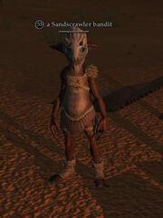 A Sandscrawler bandit