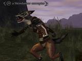A Skindancer corrupter