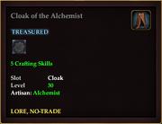 Cloak of the Alchemist