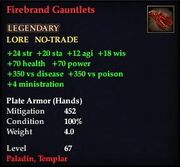 Firebrand Gauntlets