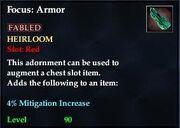 Focus Armor