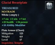 Glacial Breastplate