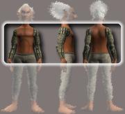 Naturewalker's Shoulder Pads (Equipped)