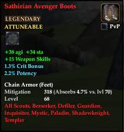 Sathirian Avenger Boots