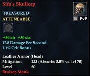 Sifu's Skullcap