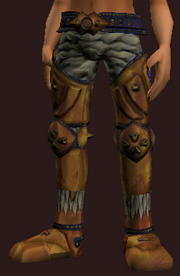 Withering Treant Greaves (Equipped)