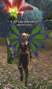 A fae defender