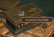 An ancient iksar tome