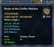 Beads of the Griffin Watcher