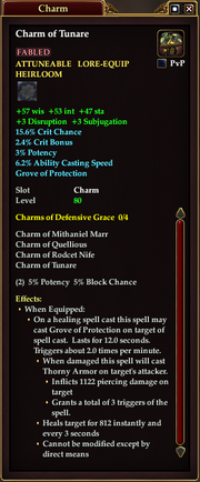 Charm of Tunare