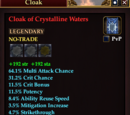 Cloak of Crystalline Waters (Fighter)