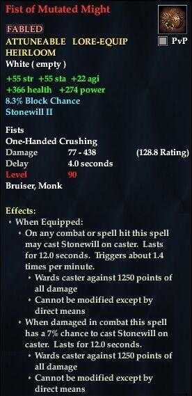 Fist Of Mutated Might Everquest 2 Wiki Fandom