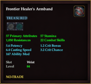 Frontier Healer's Armband
