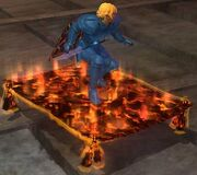 Lava-threaded Flying Carpet