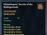Metalshapers' Secrets of the Battlegrounds
