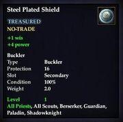 Steel Plated Shield