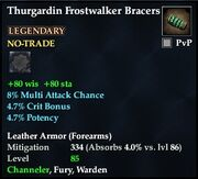 Thurgardin Frostwalker Bracers