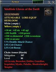 Voidlink Gloves of the Swift