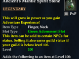 Ancient's Mantle Spirit Stone