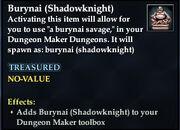 Burynai (Shadowknight)