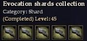 CQ shard evocation Journal