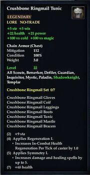 Crushbone Ringmail Tunic