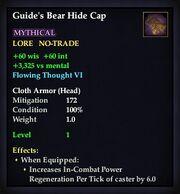 Guide's Bear Hide Cap