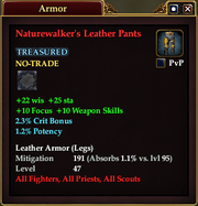 Naturewalker's Leather Pants