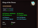 Ring of the Durus