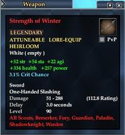Strength of Winter