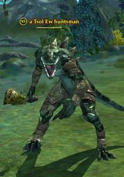 A Tsol Ew huntsman