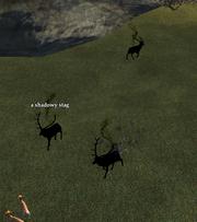 A shadowy stag (Cobalt Scar)