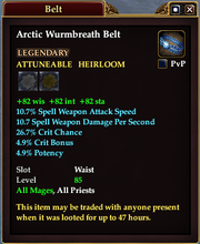 Arctic Wurmbreath Belt