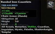 Banded Iron Gauntlets