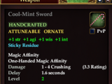 Cool-Mint Sword