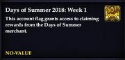 Days of Summer- 2018