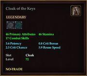 Kunark- Jailer Keys - Reward 3