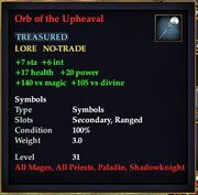 Orb of the Upheaval