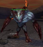 A raging Void attacker